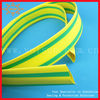 Yellow green heat shrinkable temperature color change tape