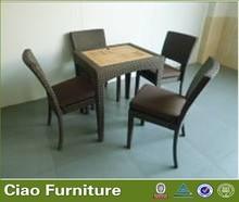 teak wood table chair
