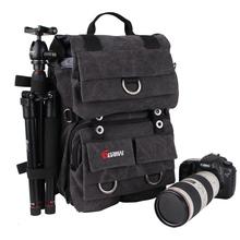 Eco-friendly canvas bag backpack rock wings backpack