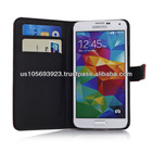 Flip Credit Card Leather Phone Case For SUMSUNG S5 5 Colors