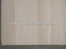 cheap price paulownia wood panel edge glued solid wood panels