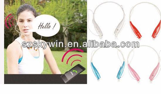 2014 Hello, handfree talking phone by neckband bluetooth headphone