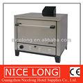 Nuovo stile 2014 gas trasportatore forno per pizze/forno a gas per pizza 8x9'' PC o 4x16''pcs
