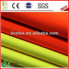 100 Polyester bright orange fabric