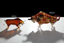 Unique Desktop Animal Art Glass
