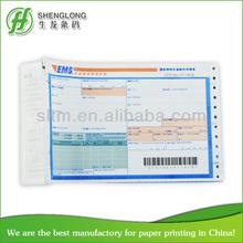 China print factory Turkey PTT ems airway bill printing