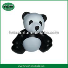 high quality panda shape stress toy ball