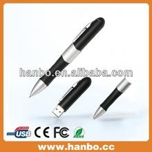 promotion pen shape usb sticks with ink pen
