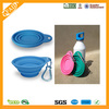 wholesale eco-friendly universal microwave safe silicone rubber folding bowl