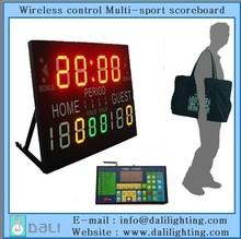 Convenient using indoor hall multisport scoreboard