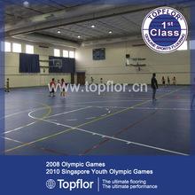 International Basketball Match Used Synthetic Flooring