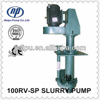 High chrome metal lined vertical spindle pumps