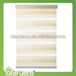 Stardeco zebra shades / combi blind / dual shade