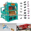 Qt4-15c pavimento de tijolo dá forma à máquina, tijolo vazado máquina de fabricação