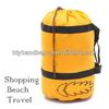 Contemporary stylish folding duffel bag travel