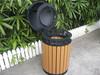 Cast iron dustbin design outdoor wpc dustbin