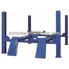 Four post lifting equipment with wheel alignment 3.5 tons