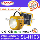 Charger solar lighting with USB outlet for travel,garden,fishing