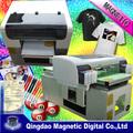 Digital de superficie plana t- shirt precio de la impresora/t- shirt de la impresora para la venta