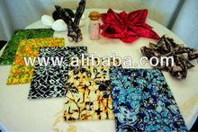 Handkerchief & Napkin - 100% Handmade Genuine Batik
