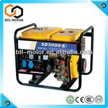 Mini Open type Air Cooled 6KVA/5KW Diesel Generator