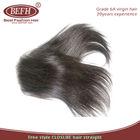 2014 6a virgin brazilian hair 3pcs lot with closure straight 4x4inch