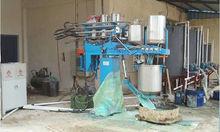 ECMT-131A Polyurethane automatic batch mattress sponge foam foaming making machine