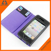 2014 Made in China high class mobile phone case with card holder