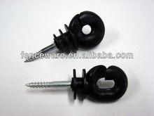 Electric Fence Ring/Corner/Post/Tape/Wraparound/Tube/End Strain/Screw-in Plastic Porcelain Insulator