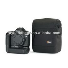 Designer classical brown retro dslr camera bag