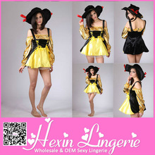 2013 Wholesale Latest cosplay womens pirate costume