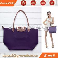 Fashion folding tote bag, ladies folding tote bag