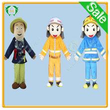 HI EN71 customized fireman sam mascot costumes