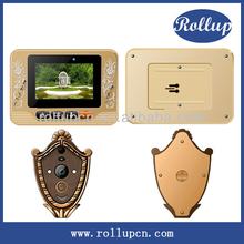 wireless digital video camera, touching control door viewer installation