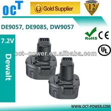 7.2v 2000mAh Extended Battery for Dewalt DW9057 DE9057 DE9085 DW920K DW920K-2 DW920K2 DW925K DW925K-2 DW925K2 DW968K