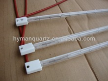 Quick heating speed ceramic cap Infrared halogen lamp