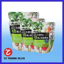 color printed sealable plastic bag