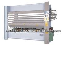 door skin hydraulic hot press machine/wood door press machine/door pressing machine