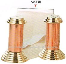 Copper Cruet Set