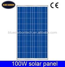 New Energy Photovoltaic 100w 12v pv solar panel pakistan
