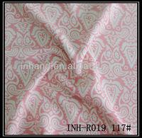 2014 top 10 textile fabric 100%spun mercerized rayon/viscose fabric