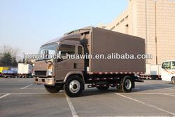 van truck howo 4x2 for Algeria 1 T 60hp