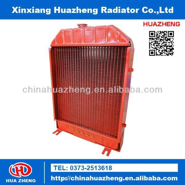 Máquinas pesadas cobre- latão radiador fabricante de trator imt
