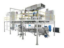 Integrated powder coating machine