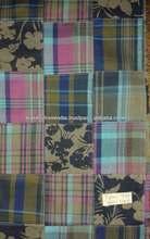 indian raw silk george patchwork fabrics