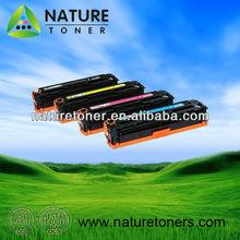 Color Compatible Printer Cartridge CE320A CE321A CE322A CE323A for HP