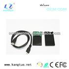 Micro sata ssd case/1.8 ssd adapter/mini sata ssd enclosure
