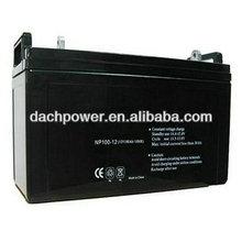 12v 100ah sealed lead acid deep cycle battery