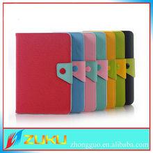 Cute belt clip for ipad mini case leather