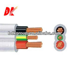 Single core and multi core fire retardant LSZH compound and sheathed 3 core 4mm flexible cable 300/500V & 450/750V
